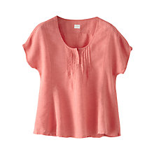 Buy Poetry Linen Short Sleeved Top Online at johnlewis.com