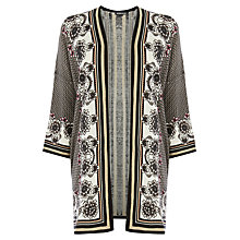Buy Warehouse Border Print Kimono, Multi Online at johnlewis.com