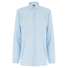 Buy Warehouse Relaxed Curved Hem Shirt Online at johnlewis.com