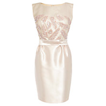 Buy Coast Jeshan Dress, Sand Online at johnlewis.com