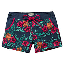 Buy Fat Face Pineapple Punch Shorts, Navy Online at johnlewis.com