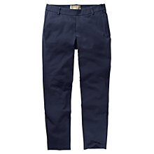 Buy Fat Face Side Zip Stretch Trousers, Navy Online at johnlewis.com