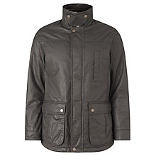 Buy John Lewis Dog Walker Waxed Cotton Jacket, Green Online at johnlewis.com