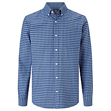 Buy John Lewis Minigrid Oxford Shirt Online at johnlewis.com