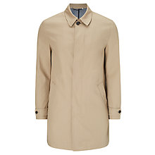 Buy John Lewis Bonded Cotton Mac, Mushroom Online at johnlewis.com