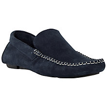 Buy Bertie Plain Driver Suede Moccasins Online at johnlewis.com