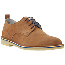 Buy Bertie Buzz Suede Desert Derby Shoes, Tan Online at johnlewis.com