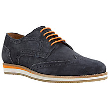 Buy Dune Colour Pop Wedge Sole Suede Brogues Online at johnlewis.com