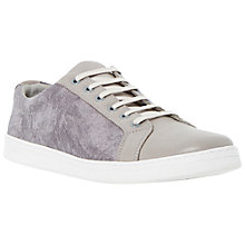 Buy Dune Troopers Leather and Canvas Trainers Online at johnlewis.com