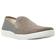 Buy Berie Finlie Suede and Canvas Slip On Trainers Online at johnlewis.com