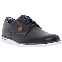 Buy Dune Barbican Leather Lace Up Shoes, Navy Online at johnlewis.com