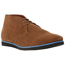 Buy Dune Candy Shop Suede Pop Sole Desert Boots, Tan Online at johnlewis.com
