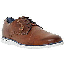 Buy Dune Barbican Leather Lace Up Shoes, Tan Online at johnlewis.com