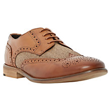 Buy Bertie Aston Raffia Lace-Up Brogues Online at johnlewis.com