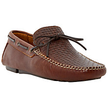 Buy Bertie Woven Front Loafers, Tan Online at johnlewis.com