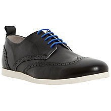 Buy Dune Babylon Leather Brogues, Black Online at johnlewis.com