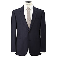 Buy JOHN LEWIS & Co. Mathern Contrast Twill Suit Jacket, Denim Online at johnlewis.com