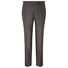 Buy JOHN LEWIS & Co. Hornton Sharkskin Suit Trousers, Brown Online at johnlewis.com
