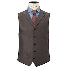 Buy JOHN LEWIS & Co. Hornton Sharkskin Waistcoat, Brown Online at johnlewis.com