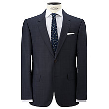 Buy JOHN LEWIS & Co. Tailored Chepstow Twist Check Single Breasted Suit Jacket, Airforce Online at johnlewis.com