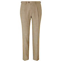 Buy JOHN LEWIS & Co. Burlington Basketweave Suit Trousers, Tan Online at johnlewis.com