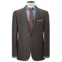 Buy JOHN LEWIS & Co. Hornton Sharkskin Suit Jacket, Brown Online at johnlewis.com