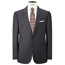 Buy JOHN LEWIS & Co. Seymour Hopsack Suit Jacket, Grey Online at johnlewis.com