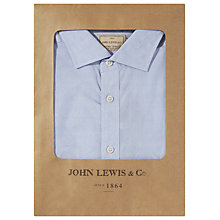 Buy JOHN LEWIS & Co Canclini Botany Print Shirt, Blue/White Online at johnlewis.com