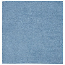 Buy JOHN LEWIS & Co. Mills Denim Pocket Square, Light Blue Online at johnlewis.com