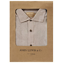 Buy JOHN LEWIS & Co. Italian End on End Cotton Shirt Online at johnlewis.com
