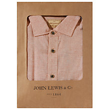 Buy JOHN LEWIS & Co. End On End Button Down Shirt Online at johnlewis.com