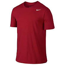 Buy Nike Dri-Fit Court T-Shirt, Red Online at johnlewis.com