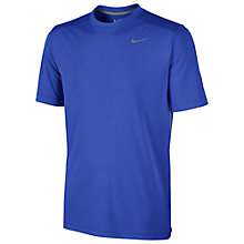 Buy Nike Legacy Short Sleeve T-Shirt, Blue Online at johnlewis.com