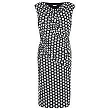 Buy Planet Spot Jersey Dress, Black Online at johnlewis.com