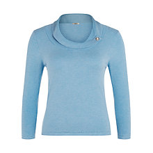 Buy Precis Petite Bardot Jumper, Pastel Blue Online at johnlewis.com