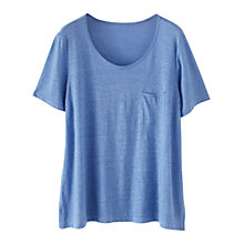 Buy Poetry Linen Jersey T-Shirt Online at johnlewis.com