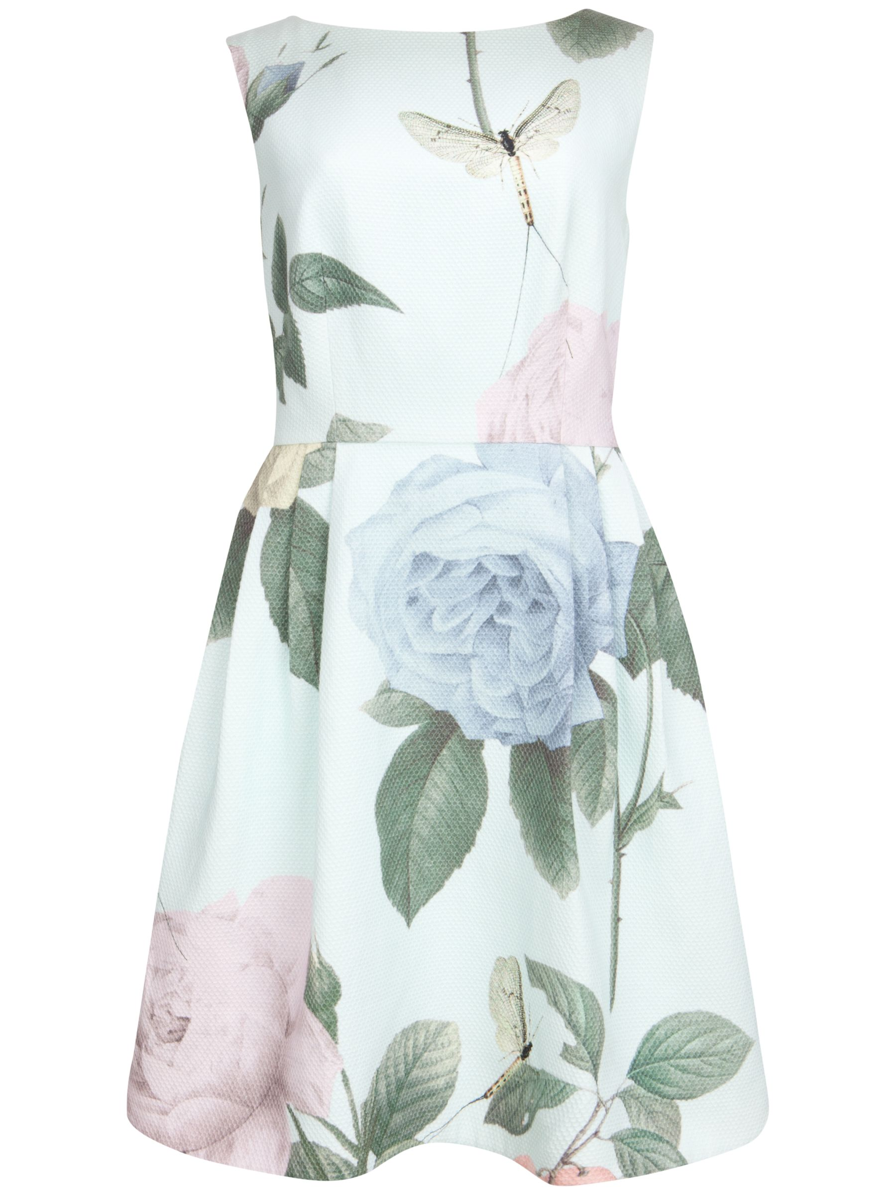 ted baker rose print tulip dress mint, ted, baker, rose, print, tulip, dress, mint, ted baker, 5|1|3|2|4|0, women, womens dresses, fashion magazine, womenswear, men, brands l-z, 1869582