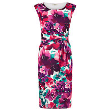 Buy Precis Petite Floral Print Jersey Dress, Multi Online at johnlewis.com
