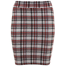 Buy Miss Selfridge Tartan Mini Skirt, Red Online at johnlewis.com