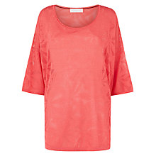 Buy Windsmoor Pointelle Jumper, Pink Coral Online at johnlewis.com