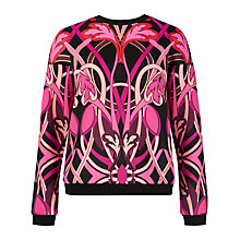 Buy Ted Baker Linear Jewel Jumper, Pink Online at johnlewis.com