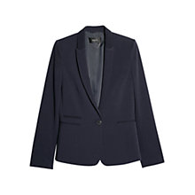 Buy Mango Suit Blazer, Navy Online at johnlewis.com