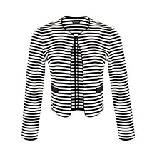 Buy Miss Selfridge Multi Stripe Jacket, Assorted Online at johnlewis.com