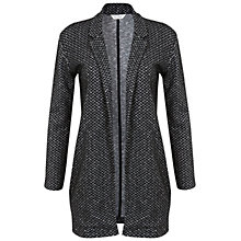 Buy Miss Selfridge Mono Chevron Duster Jacket, Assorted Online at johnlewis.com