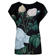 Buy Ted Baker Eevn Distinguished Rose T-shirt, Multi Online at johnlewis.com