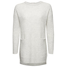 Buy Whistles Cashmere Blend Ribbed Tunic Online at johnlewis.com