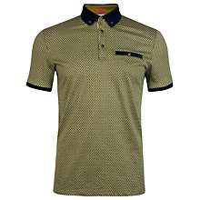 Buy Ted Baker Karmex Spotted Print Polo Shirt Online at johnlewis.com