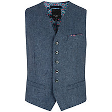 Buy Ted Baker Nubwai Wool Blend Textured Waistcoat Online at johnlewis.com