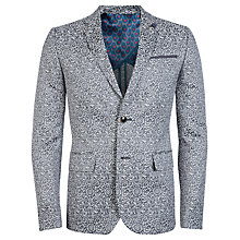 Buy Ted Baker Maltaa Jacquard Blazer, Natural Online at johnlewis.com