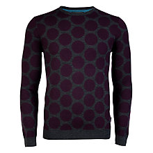 Buy Ted Baker Nivpot Spotted Merino Jumper Online at johnlewis.com